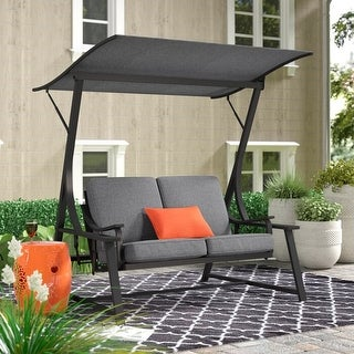 Link to BestLiving Glider Porch Swing with Stand Similar Items in Patio Furniture