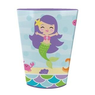 Club Pack of 12 Mermaid Friends Plastic Birthday Party Keepsake Cups 16oz.