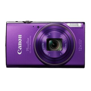 Canon PowerShot ELPH 360 HS 20.2 MP Digital Camera (Purple)