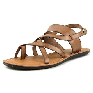 Madeline Divania Women Open Toe Synthetic Brown Gladiator Sandal