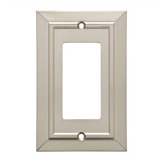 Franklin Brass W35219-C Classic Architecture Single Rocker / GFI Outlet Wall Pla