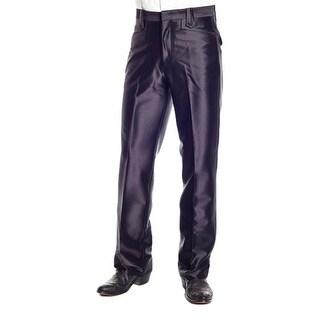 Circle S Western Pants Mens Swedish Knit Snap Scallop Pockets CP5791