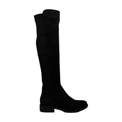 ZIGI SOHO Womens Olaa Suede Closed Toe Knee High Fashion Boots