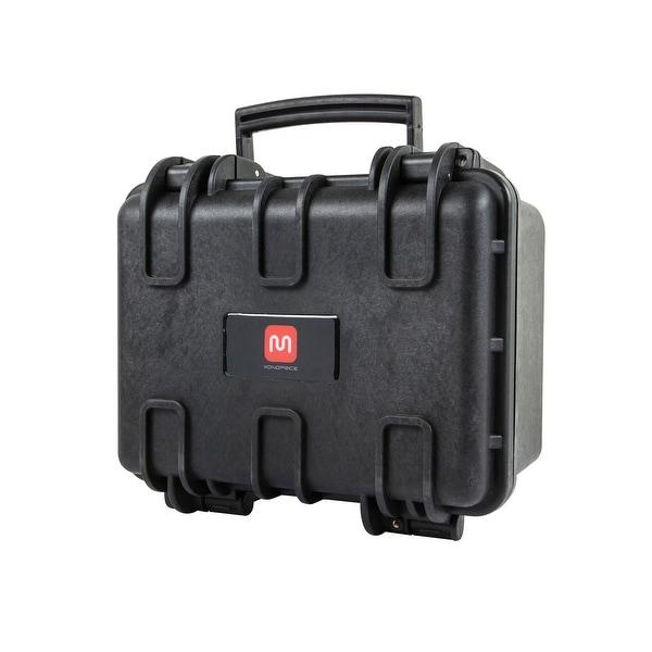 "Monoprice Weatherproof Hard Case with Customizable Foam, 12"" x 10"" x 8"""