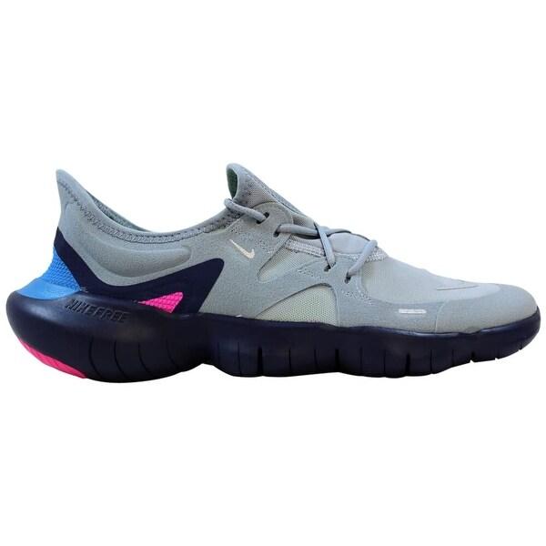 Shop Nike Free RN 5.0 Obsidian MistMetallic Silver AQ1289