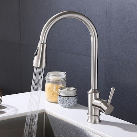 Touch Kitchen Faucets with Pull Down Sprayer Kitchen Sink Faucet