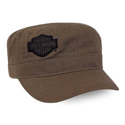 pretty nice 5c895 69655 Harley-Davidson Men s Embroidered Bar   Shield Painter s Cap - Khaki PC30239