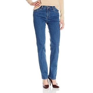 Lee Womens Classic Fit Monroe Straight-Leg Jean