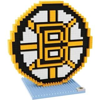 Boston Bruins 3D NHL BRXLZ Bricks Puzzle Team Logo