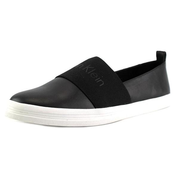 6397c626a Shop Calvin Klein Mora Women Black Flats - Ships To Canada ...