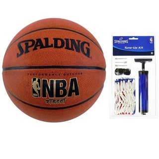 "Spalding NBA Street Basketball with tune up kit (29.5"")"