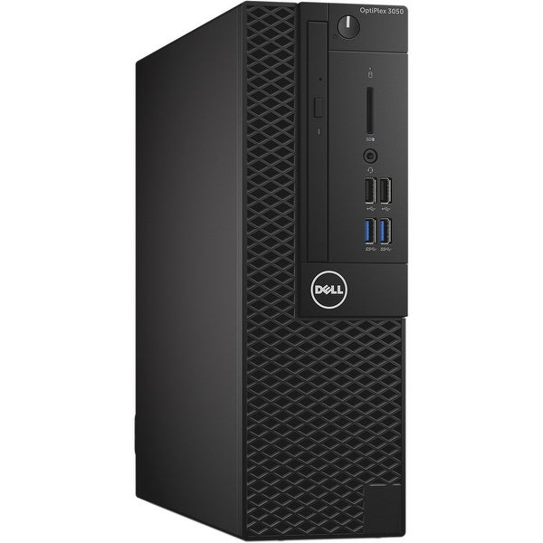Dell OptiPlex 3050 Small Form Factor Desktop Computer (Certified Refurbished) - black