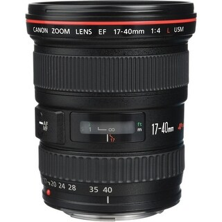 Canon EF 17-40mm f/4L USM Ultra-Wide Zoom Lens - black