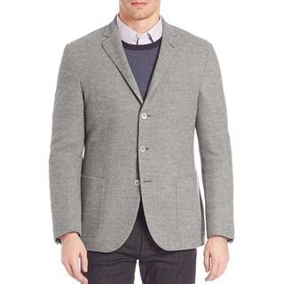 CORNELIANI ID Light Grey Wool & Cashmere Sportcoat 38 Regular 38R Blazer