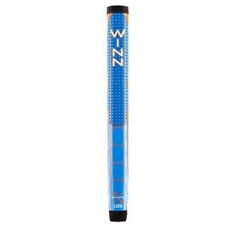 "Winn Pro X 1.18"" Blue/Orange Putter Golf Grip"