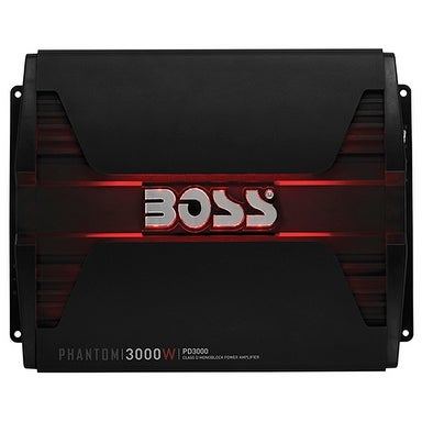 Boss Phantom Class D Monoblock 3000W Amp