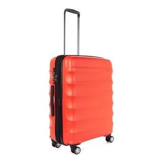 Antler Juno DLX Hardside Expandable Luggage Large, Red