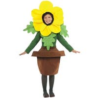 Forum Novelties Sunny Blossom Child Costume - Green/Yellow - Standard