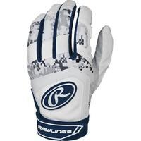 Rawlings 5150 Batting Gloves (Navy Blue/Youth Large)