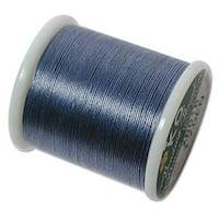 Japanese Nylon Beading K.O. Thread for Delica Beads - Denim Blue 50 Meters