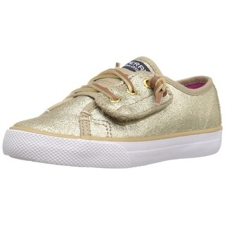 Sperry Top-Sider Seacoast Jr Leather Sneaker Shoes - 9.5 m us toddler