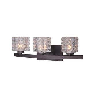 "Woodbridge Lighting 16353-C80410 Charlotte 3 Light 21"" Wide Bathroom Vanity Ligh"