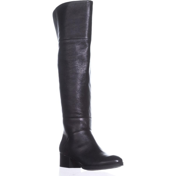 Tommy Hilfiger Gianna Tall Boots, Black - 8 us
