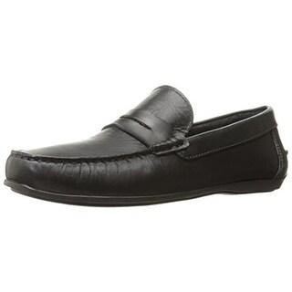 Florsheim Mens Jenson Leather Slip On Loafers - 9.5 medium (d)