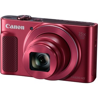 Canon PowerShot SX620 HS Digital Camera (International Model) (Option: Red)