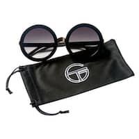Gravity Shades Retro Oversized Round Sunglasses - One size
