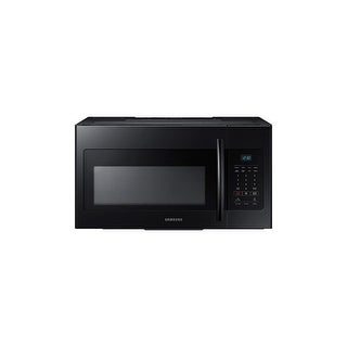 Samsung ME16H702SE 30 Inch Wide 1.6 Cu. Ft. Over-the-Range Microwave with Eco Mode