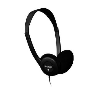 Maxell Dynamic Sound Stereo Headphones HP-100 in Black