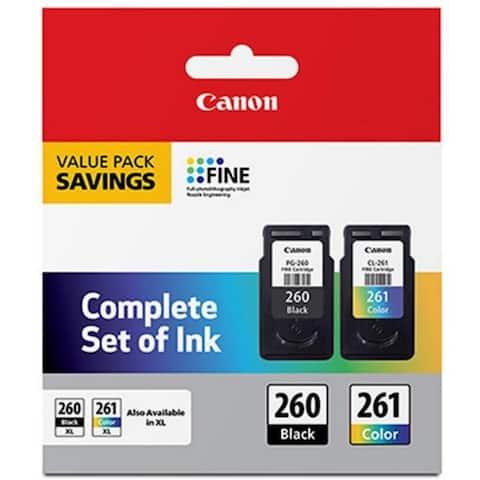 Canon PG-260 Black /CL-261 Color Value Pack - Black & Color