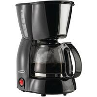 Brentwood Ts-213Bk 4-Cup Coffee Maker (Black)
