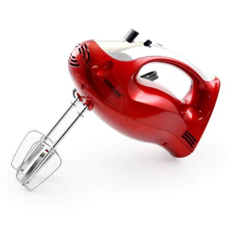 Better Chef Hand Mixer-Red