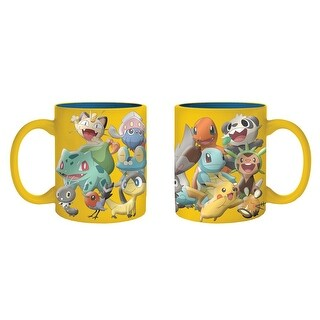 Pokemon Gang 20 oz. Cermaic Mug