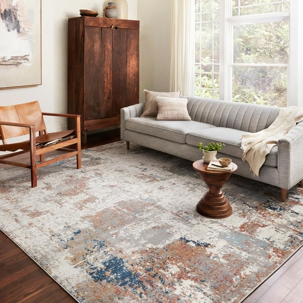 Alexander Home Charlotte Modern Contemporary Area Rug. Opens flyout.