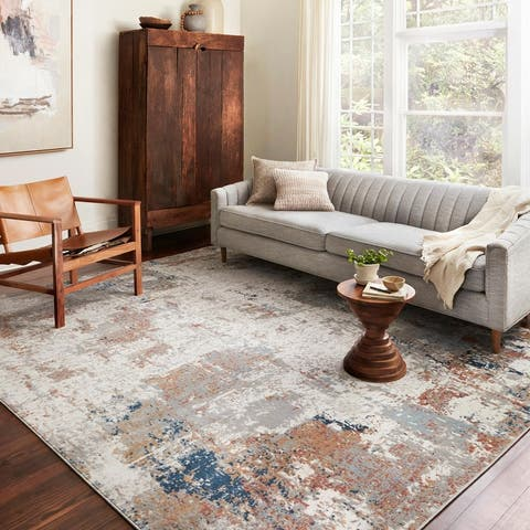 Alexander Home Charlotte Modern Contemporary Area Rug