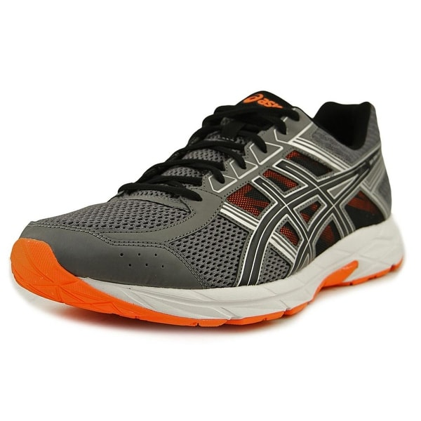 Asics Gel-Contend 4 Men Carbon/Black/ Hot Orange Running Shoes