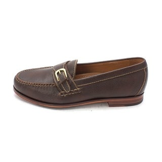 Cole Haan Mens Giancarlosam Leather Closed Toe Penny Loafer