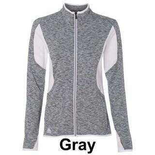 adidas - Golf Women's Space Dyed Full-Zip Jacket