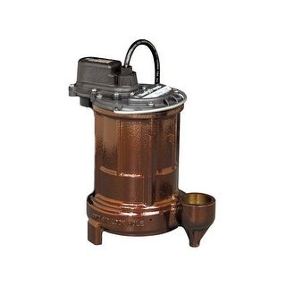 Liberty Pumps 250 1/3 HP Cast Iron Submersible Sump Pump (Non-Automatic) - na