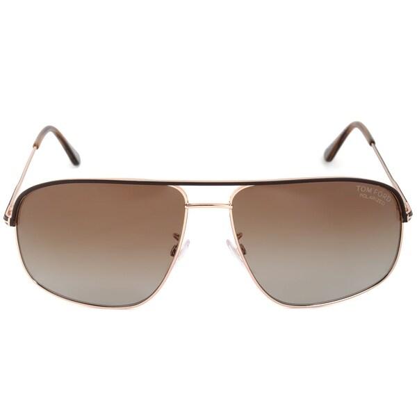 654b1bb3ec3 Shop Tom Ford Justin Polarized Sunglasses FT0467 50H - Free Shipping ...