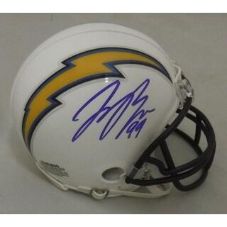 Joey Bosa Autographed San Diego Chargers Riddell Mini Helmet JSA