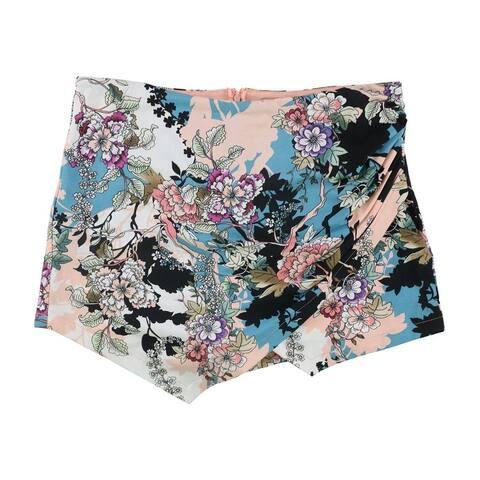 Guess Womens Asymmetrical Skort Skirt