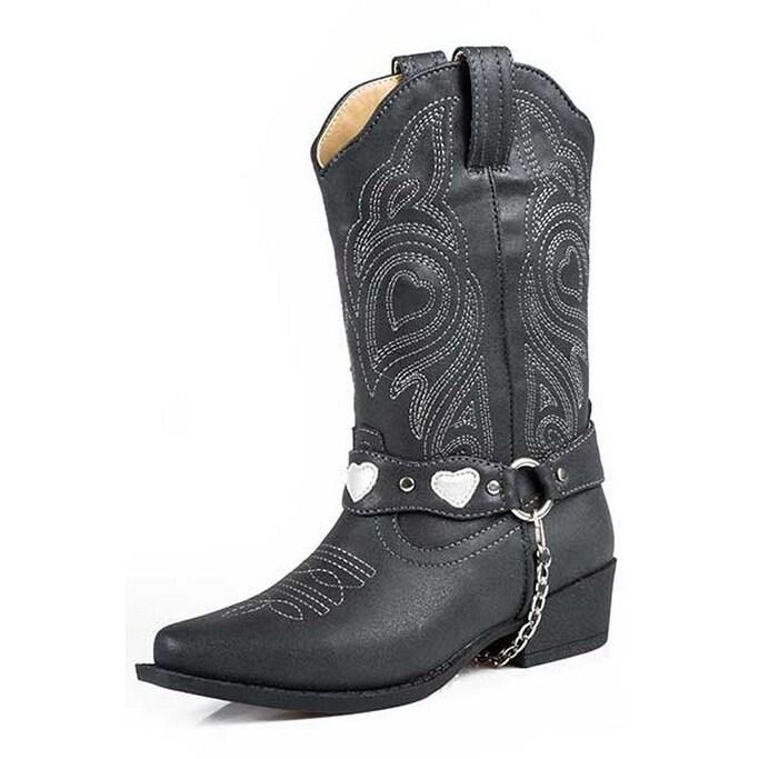 Roper Western Boots Girls Cowgirl Cute