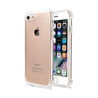 Skiva CaseGuard Crystal Clear Cover Case for iPhone 8 and iPhone 7 [Shock Absorption | Anti-Scratch Rigid | Slim Profile]