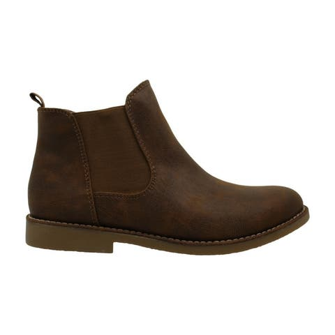 Seven Dials Womens Maggie Fabric Closed Toe Ankle Chelsea Boots