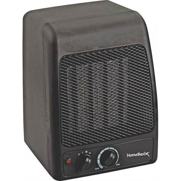 Homebasix PTC-700 Electric Ceramic Heater, 750/1500 Watts