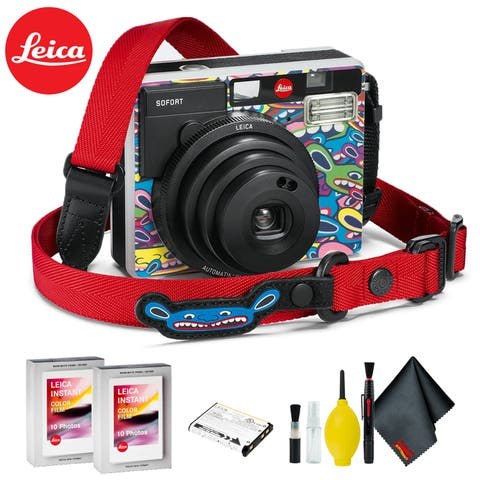 Leica Sofort Instant Film Camera (LimoLand by Jean Pigozzi Special Edition) Kit